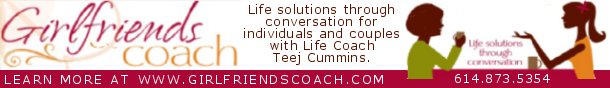 Teej Cummins, Life Coach at www.GirlfriendsCoach.com